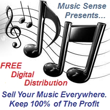 Music Sense Digital Distribution. Sell Your Music Online, Keep 100% of the Profits!